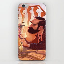 The Chemist iPhone Skin