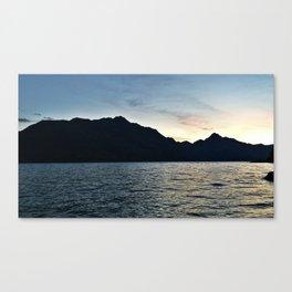 Lake Wakatipu, Queenstown Canvas Print