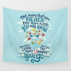Go places Wall Tapestry