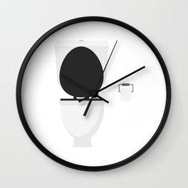 Toilet Wall Clock