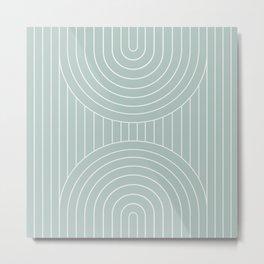 Arch Symmetry XV Metal Print