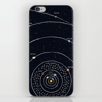 solar system iPhone & iPod Skins featuring Solar system by James White