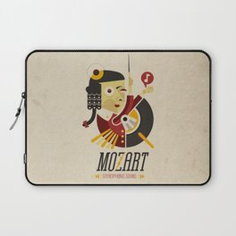 Mozart - Stereophonic Sound   Laptop Sleeve