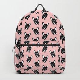 Cute brindle Frenchie is a dreamer Backpack