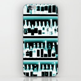 Wine Bottles - version 2 #decor #buyart #society6 iPhone Skin