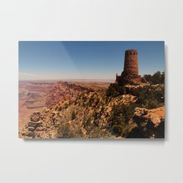 Desert View Watch Tower  Metal Print