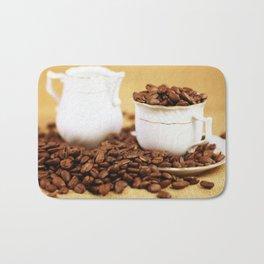 Creamer coffee cup coffee beans kitchen image 2 Bath Mat
