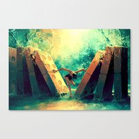 Canvas Prints featuring TAURUS from the Dancing Zodiac by Cyril ROLANDO
