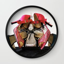 Stiletto Empire 1 Wall Clock