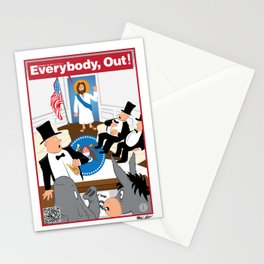 Everybody, Out! Stationery Cards