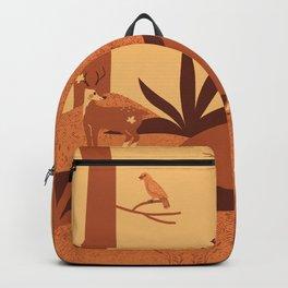 Desert animal Backpack