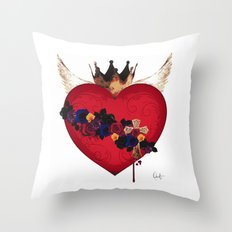 Sacred Heart for Frida Throw Pillow