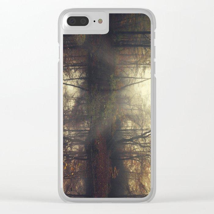 Fall Feelings Clear iPhone Case