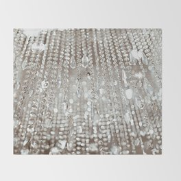 Crystals and Light Throw Blanket