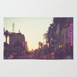 Hollywood Boulevard Sunset Rug