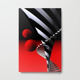 steps -01- Metal Print