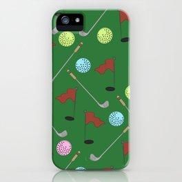 Golf 1 iPhone Case
