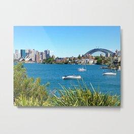 A Sydney view Metal Print