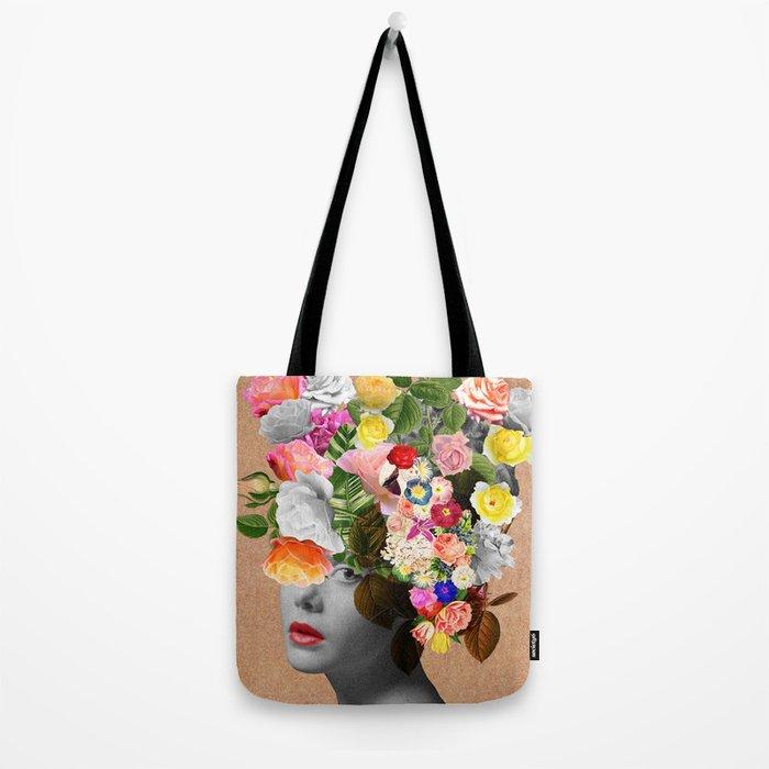 Lady Floral Tote Bag