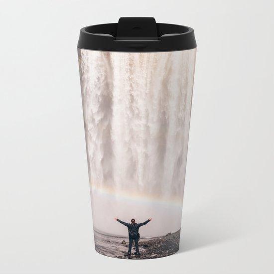 Waterfallust Metal Travel Mug