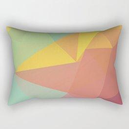Geometric X Rectangular Pillow