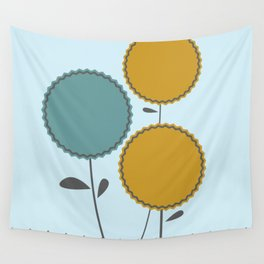 Country Flora Wall Tapestry
