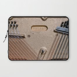 Abstract Detail Of The Inside Of A Piano Laptop Sleeve