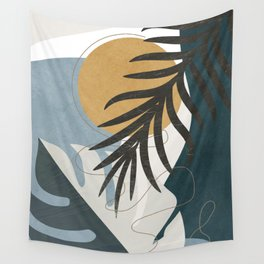 Abstract Tropical Art II Wall Tapestry