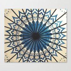 Blue orient  Canvas Print