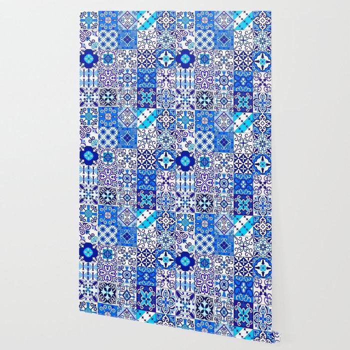 Moroccan Tile Islamic Pattern Wallpaper