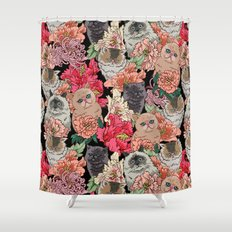 Because Cats Shower Curtain