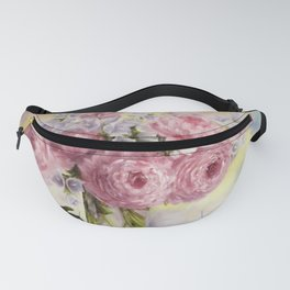 Pink Peons Fanny Pack