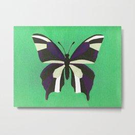 Butterfly Flutterby Metal Print
