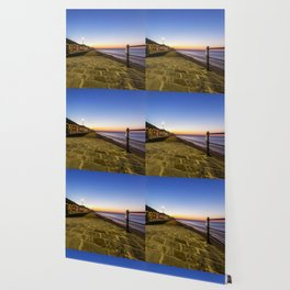 Saltburn in the evening light Wallpaper