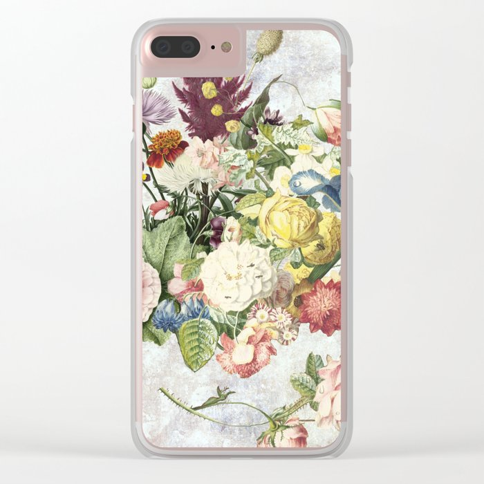 Flourish, spring, burgeon, burst! Clear iPhone Case