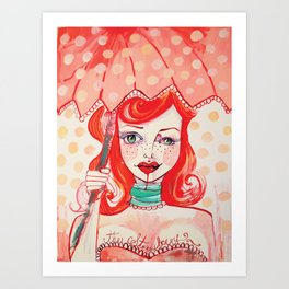 The Strawberry Art Print