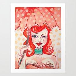 The Strawberry Art Print