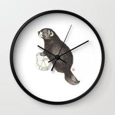 iltis on drums Wall Clock