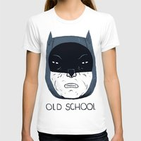 school T-shirts featuring old school by Louis Roskosch