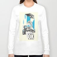 kim sy ok Long Sleeve T-shirts featuring OK by collageriittard