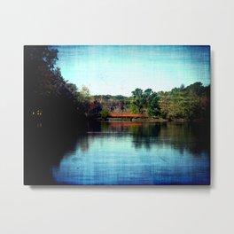 Bridge Over The River Mullica Metal Print