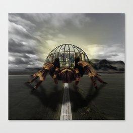 Spider City Canvas Print