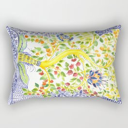 Fruit Tree of Life Rectangular Pillow