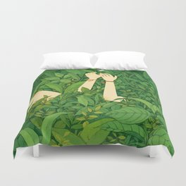 I wanna love u now Duvet Cover