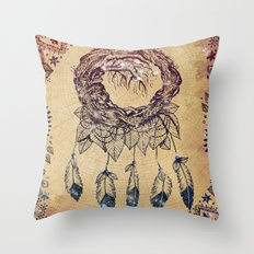 The Dreaming Tree III Throw Pillow
