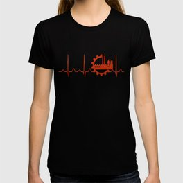 Industrial Engineer Heartbeat T-shirt