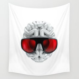 Keep a Cool Mind Wall Tapestry