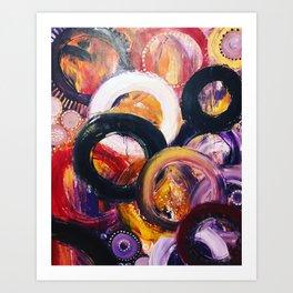 Auras Art Print