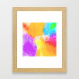 Color Brust Framed Art Print