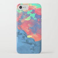 rushmore iPhone & iPod Cases featuring Mt Rushmore by Cale potts Art